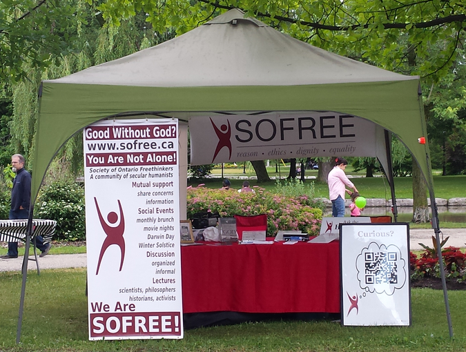 SOFREE's Tent - K-W Multicultural Festival, June 23&24, 2018